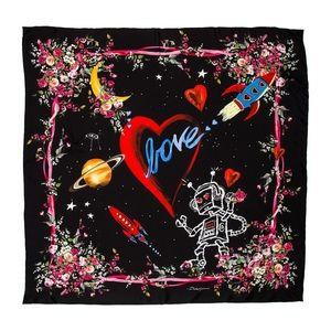 Dolce & Gabbana Space Love Scarf